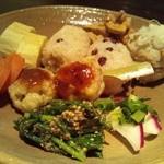 蕎麦と雑穀料理 杜々 - 前菜盛り合わせ