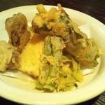 蕎麦と雑穀料理 杜々 - 天麩羅