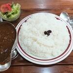 キャラウェイ - カレーライス(ミニサラダ付き)ビーフ
