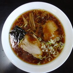 銀蝶 - 料理写真:中華そば(大盛り¥650税込み)