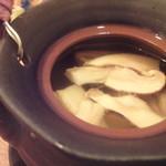 小石川 かとう - 松茸の土瓶蒸し