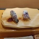 うまい鮨勘 - シャコとヤリイカ生ゲソ