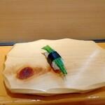 うまい鮨勘 - 芽ネギ