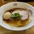 麺や 川 - 料理写真:鶏そば 特製しょうゆ