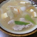 つつみ食堂 - 料理写真:豚汁