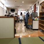 新京亭 - 店内。
