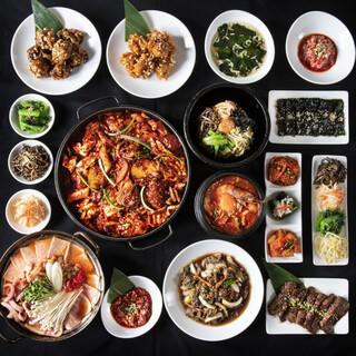 コスパ抜群!焼肉・韓国料理が同時に楽しめるコース料理がお得
