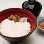 京町家 - 白海老丼