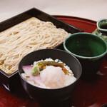 京町家 - 幌加内蕎麦と白海老小丼セット