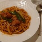 モカ - 料理写真:ナポリタン セット 780円