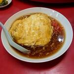 誠龍 - ランチCセット ( 天津飯 )