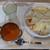 インドレストラン ナンハウス - 料理写真:チーズナンセット
