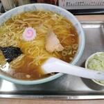 daishouken - ラーメン 750円 ねぎ 50円