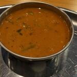 158282741 - マトンのカレー                         タイのスープみたいな酸味