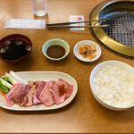 焼肉丸正 - 料理写真:上カルビ定食