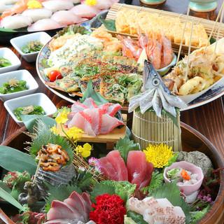 最高鮮度の魚介類を【日々直送!】鮮度と価格が自慢!