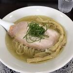 中華そば ふじ野 - 料理写真:鶏そば白醤油830円