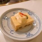 しゃぶせん - ⚫アスパラガス豆腐