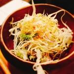 158302709 - サラダのアップ。                         和風ドレッシングで味付け。