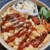 ネオ ガーデン カフェ - 料理写真:テイクアウト オムライス丼弁当600円+tax