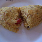 15831586 - オムレツ チーズ マッシュルーム トマト ポテト ハム