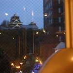 焼肉すどう - 店内からの景色。熊本城がばっちり見れます。