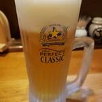 居酒屋むろらん慎吾 - ビール