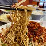 とびだせ ロケット飯店 - 極細ストレート麺