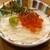 鶴亀八番 - 料理写真:長芋そうめんイクラかけ