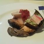 15832425 - アワビとカニがメインの前菜