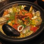 タイーム - 2012・11月 たっぷり魚介のパエリア