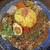 ナゴヤスパイスカレー nora  - 料理写真:Nora Curry(ココナッツマンゴーキーマ&ダル/トッピング全のせ)