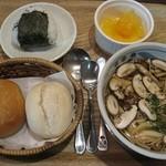 オーガニックスープ・コロンボ - コロンボセット(680円)