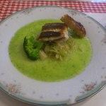 Dino - 本日のお魚料理 スズキのポワレ