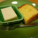料理工房 たなか - デザート カステラ バナナムース