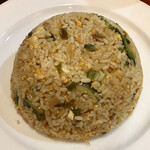 ネパール・インド料理 ゴルカ - ゴーヤ&豆腐フライドライス上から