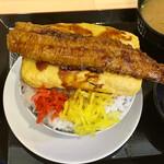 天ぷらとワイン 小島 - たまたま穴子丼
