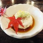 15835431 - 蕎麦豆腐