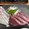 愛南 市場食堂 - 料理写真:カツオとふかうら鯛の刺身