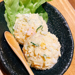 亀甲屋 - ポテトサラダ(520円)