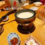 亀甲屋 - 汲み上げ湯葉(小 1540円)