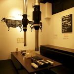 焼肉グレート - 二階の完全個室。御予約必須。