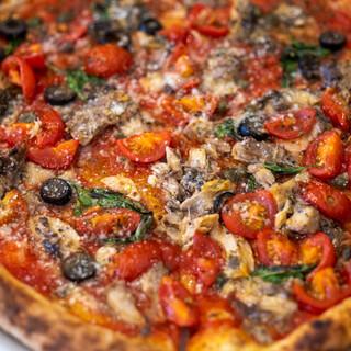 トラットリア エ ピッツェリア アミーチ - 料理写真:2021.9 鯖のマリナーラ