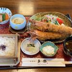 多楽 - 料理写真:大海老御膳2410円