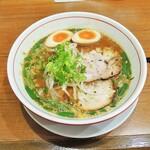池田麺彩 - 味噌ラーメン(味玉トッピング)