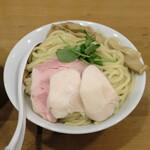 つけめん 桜坂 - 濃厚煮干しつけめん、麺の皿