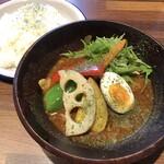 カントリー×旅カフェ キャンプ - 料理写真:学生応援スープカレー968円
