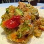 一六珈琲店 - ■玄米リゾット たっぷりのお野菜と玄米で作る パルミジャーノレッジャーノのチーズリゾット