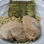 158381373 - Gつけ麺(太麺、麺半分、豚増し1枚、野菜抜き、にんにく抜き)