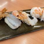 スシロー - 世界の海老食べ比べ